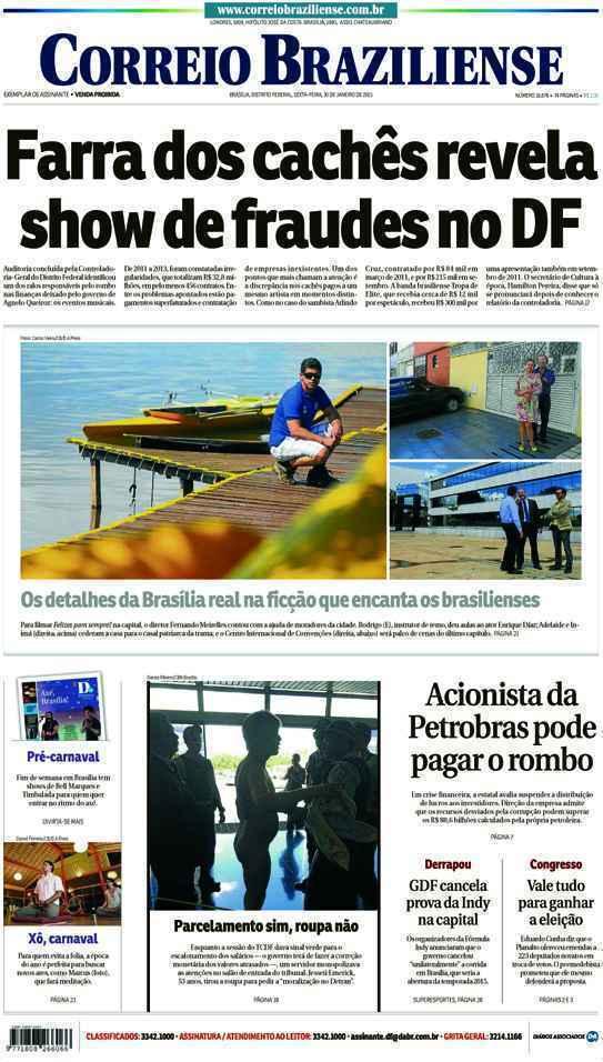 Correio Braziliense, 30 de Janeiro de 2015