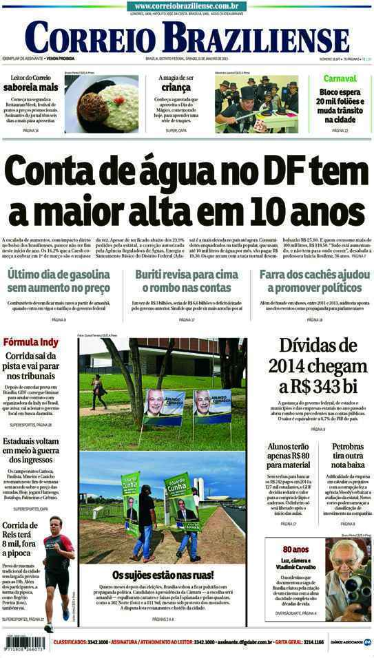 Correio Braziliense, 31 de Janeiro de 2015