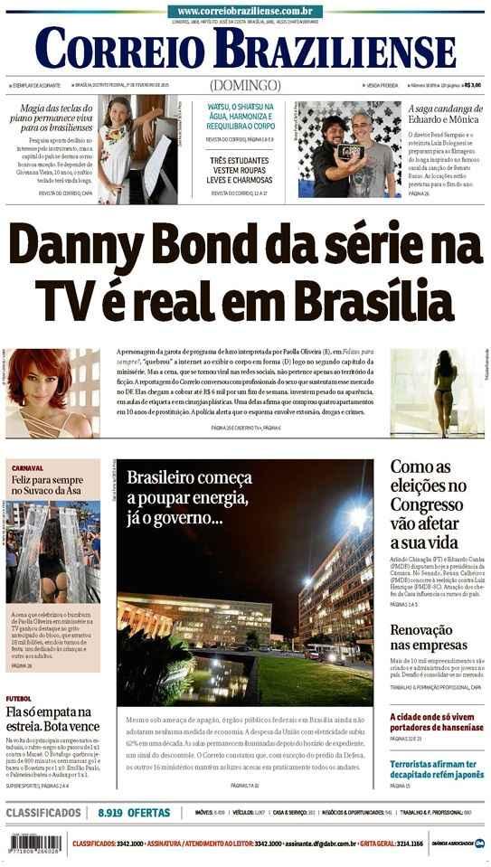 Correio Braziliense, 01 de Ferveiro de de 2015
