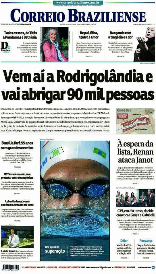 Correio Braziliense, 06 de Março de 2015
