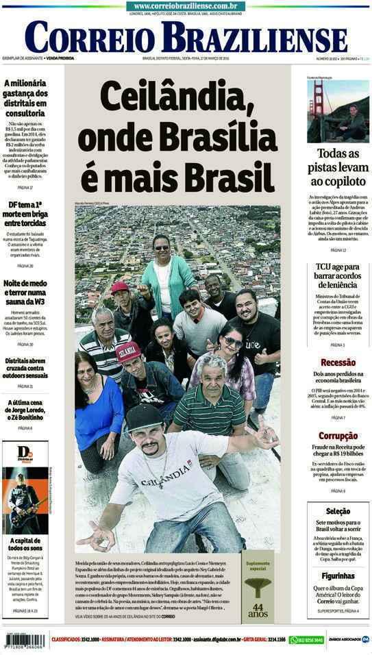 Correio Braziliense, 27 de Março de 2015