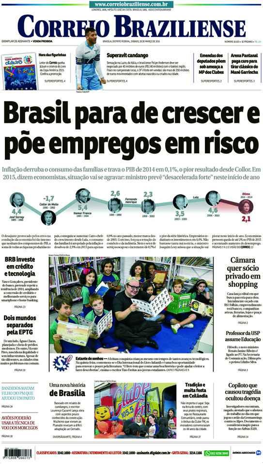 Correio Braziliense, 28 de Março de 2015
