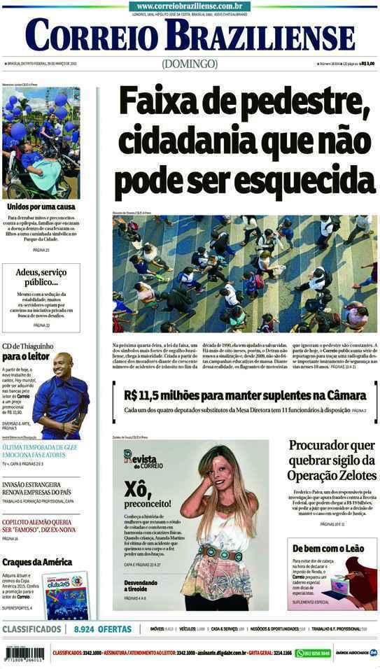 Correio Braziliense, 29 de Março de 2015