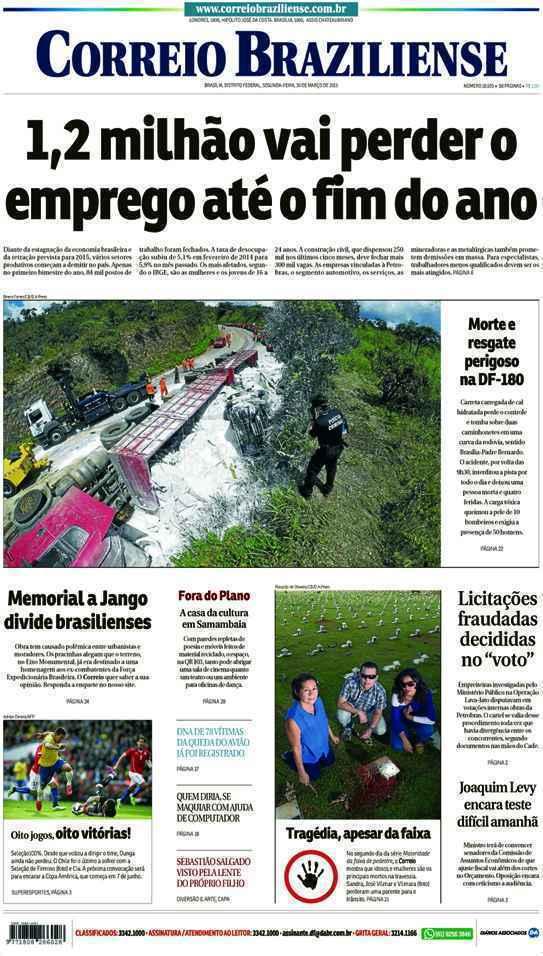 Correio Braziliense, 30 de Março de 2015