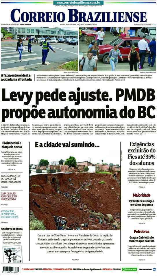 Correio Braziliense, 31 de Março de 2015