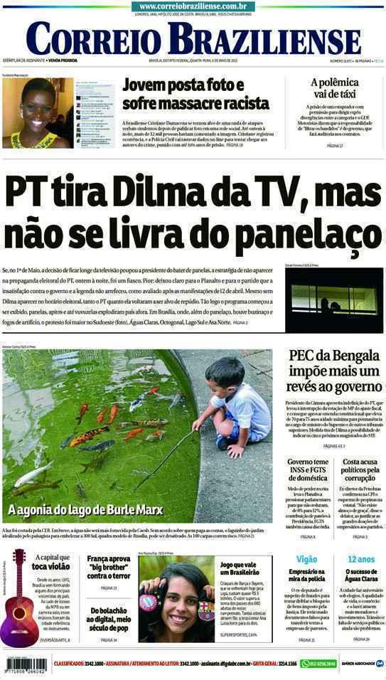 Correio Braziliense, 06 de Maio de 2015