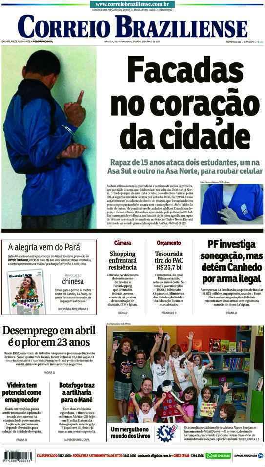Correio Braziliense, 23 de Maio de 2015