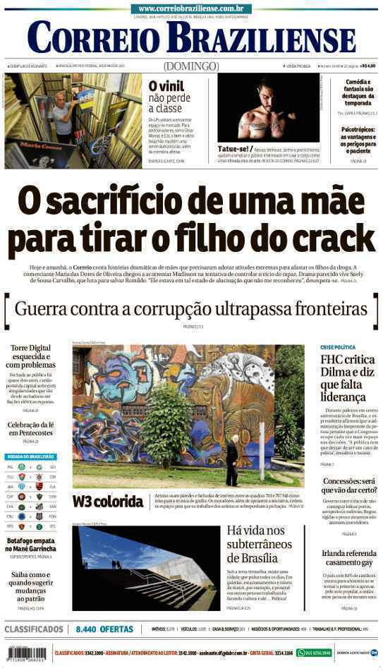 Correio Braziliense, 24 de Maio de 2015