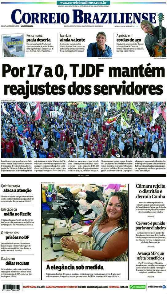 Correio Braziliense, 27 de Maio de 2015