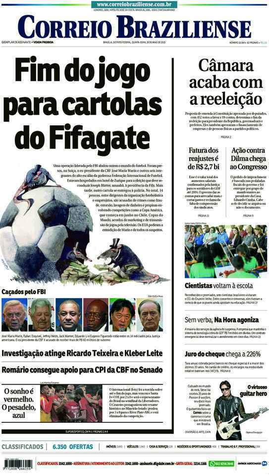 Correio Braziliense, 28 de Maio de 2015