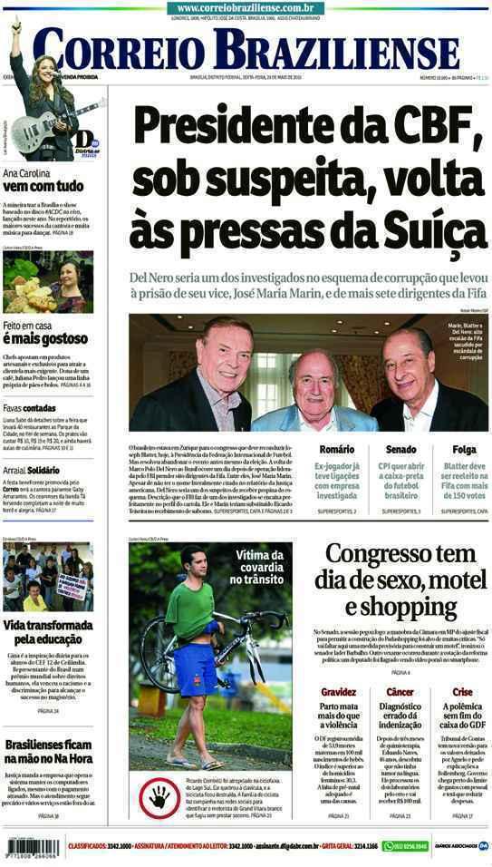 Correio Braziliense, 29 de Maio de 2015
