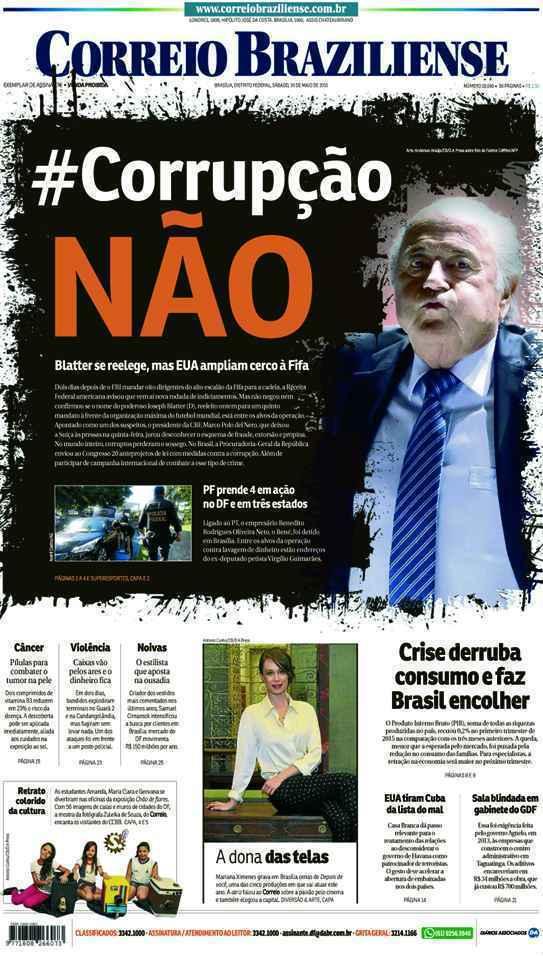 Correio Braziliense, 30 de Maio de 2015