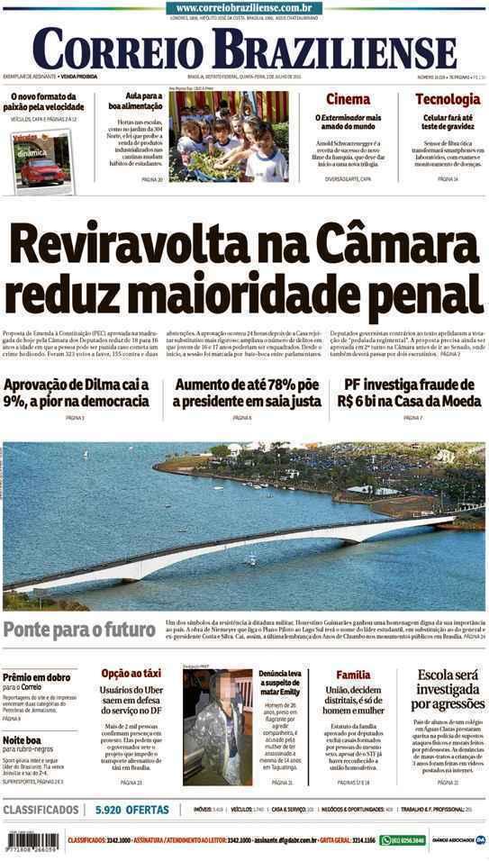 Correio Braziliense, 02 de Julho de 2015