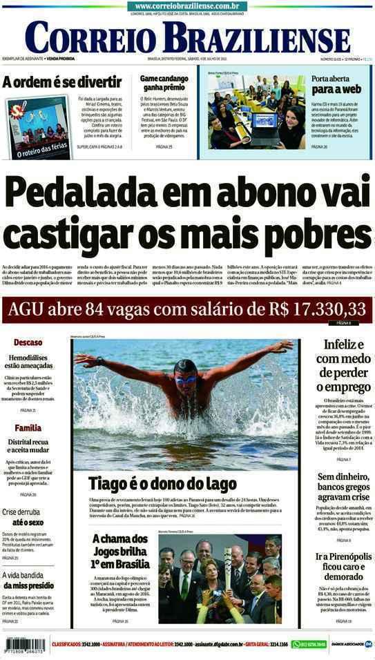 Correio Braziliense, 04 de Julho de 2015