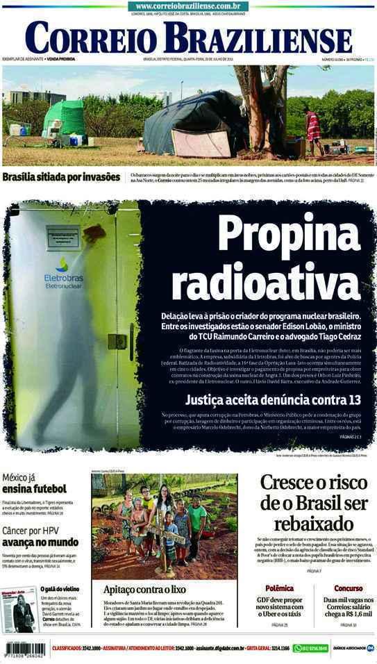 Correio Braziliense, 29 de Julho de 2015