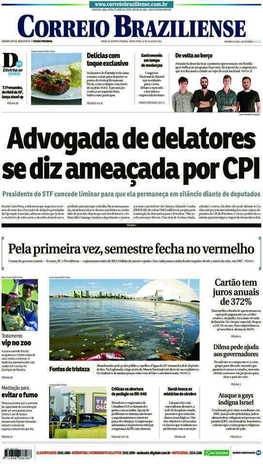 Correio Braziliense, 31 de Julho de 2015