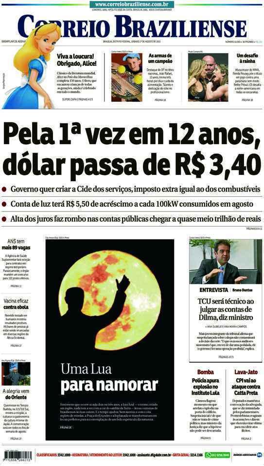 Correio Braziliense, 01 de Agosto de 2015