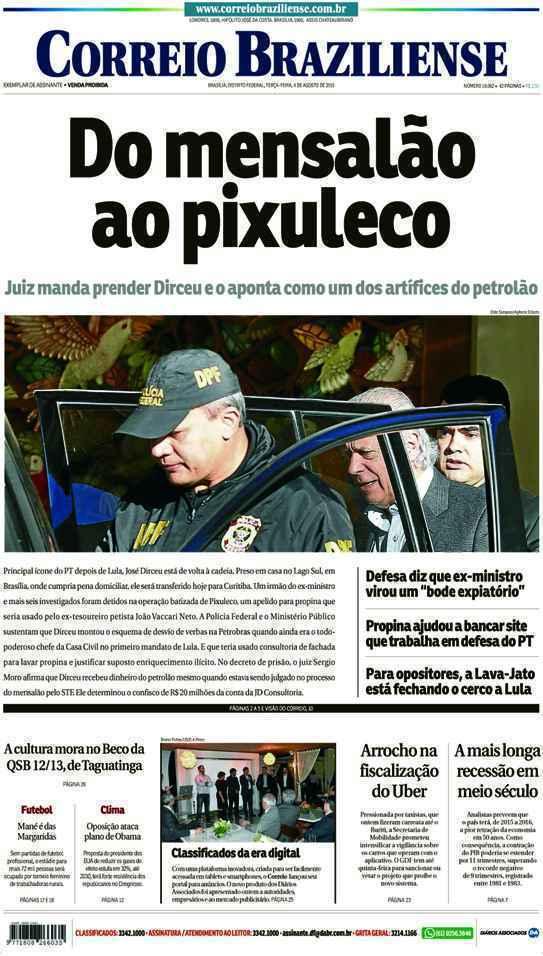 Correio Braziliense, 04 de Agosto de 2015