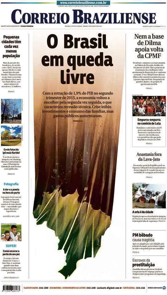 Correio Braziliense, 29 de Agosto de 2015