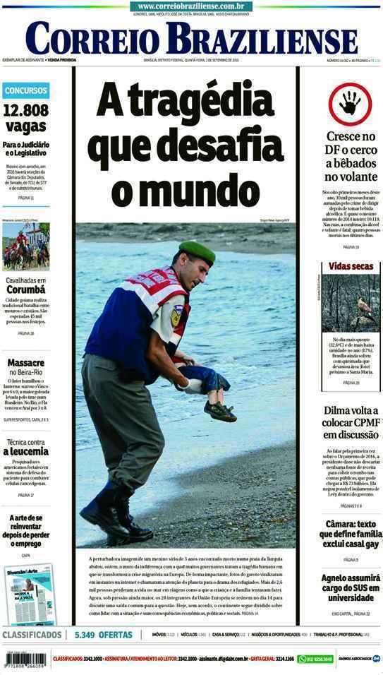 Correio Braziliense, 03 de Setembro de 2015