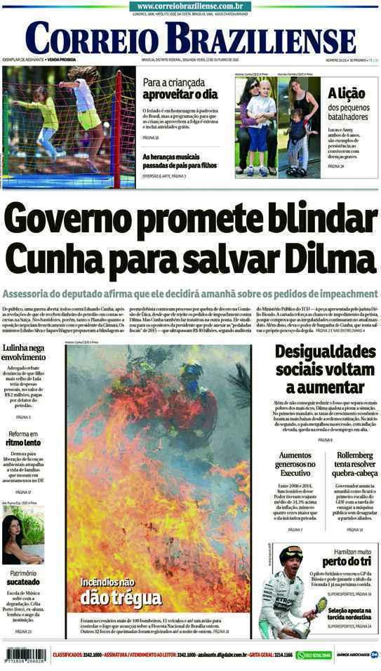 Correio Braziliense, 12 de Outubro de 2015