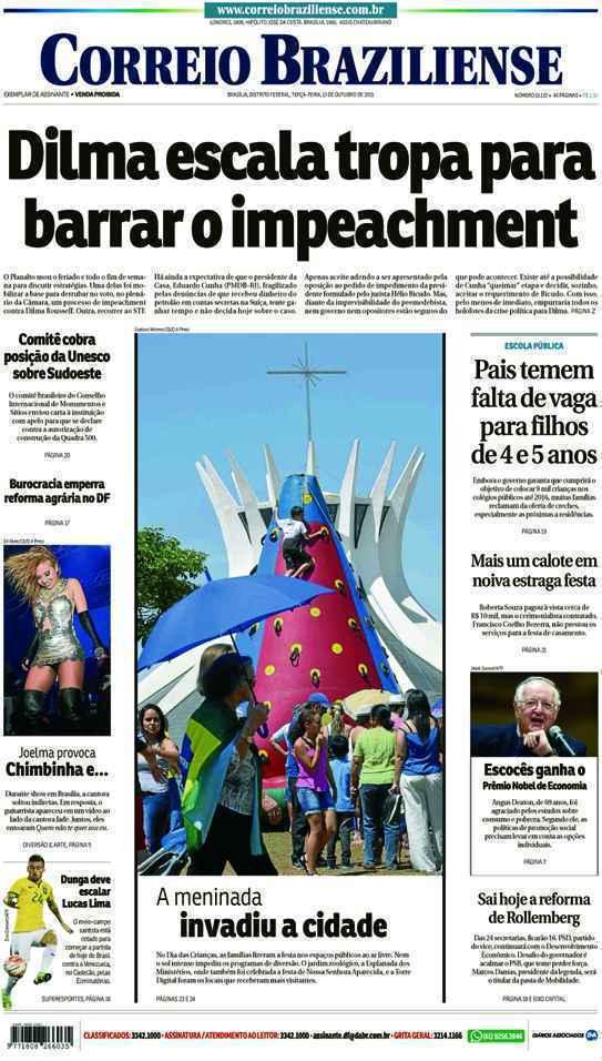 Correio Braziliense, 13 de Outubro de 2015