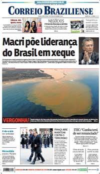 Correio Braziliense, 24 de Novembro de 2015