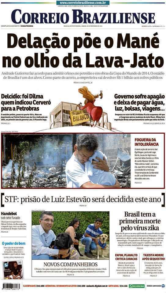 Correio Braziliense, 28 de Novembro de 2015