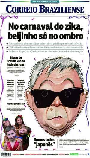 Correio Braziliense, 06 de Ferveiro de de 2016