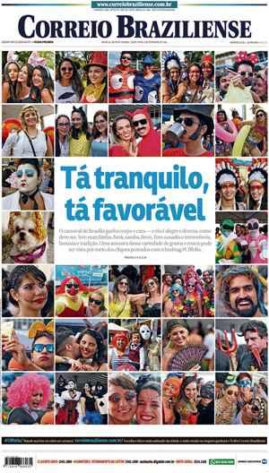 Correio Braziliense, 09 de Ferveiro de de 2016