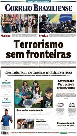 Correio Braziliense, 23 de Julho de 2016