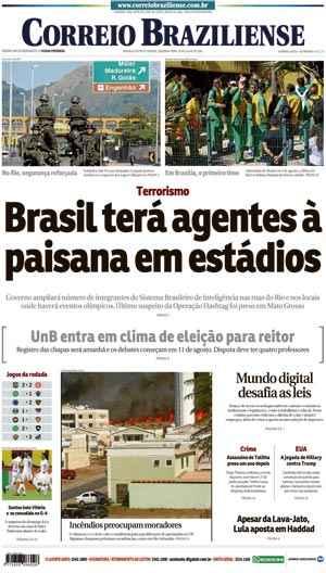 Correio Braziliense, 25 de Julho de 2016