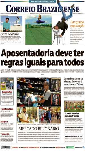 Correio Braziliense, 26 de Julho de 2016
