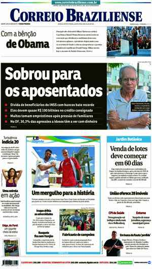 Correio Braziliense, 28 de Julho de 2016