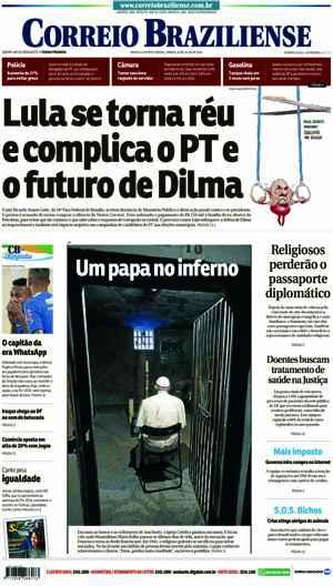 Correio Braziliense, 30 de Julho de 2016