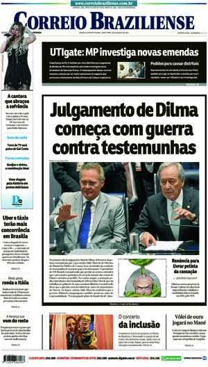 Correio Braziliense, 26 de Agosto de 2016