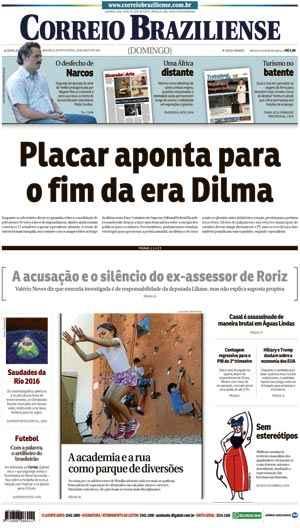 Correio Braziliense, 28 de Agosto de 2016