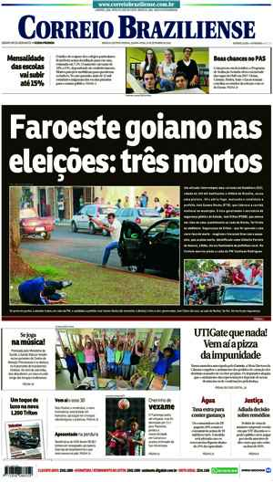 Correio Braziliense, 29 de Setembro de 2016