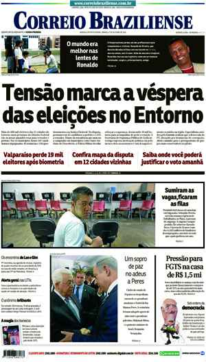 Correio Braziliense, 01 de Outubro de 2016