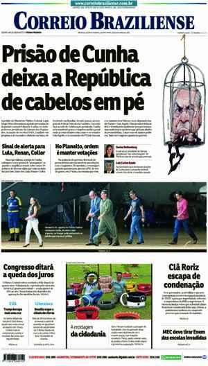 Correio Braziliense, 20 de Outubro de 2016