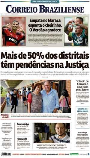 Correio Braziliense, 24 de Outubro de 2016