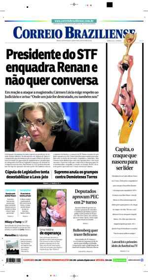 Correio Braziliense, 26 de Outubro de 2016
