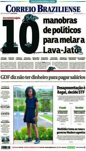 Correio Braziliense, 27 de Outubro de 2016