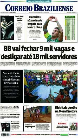 Correio Braziliense, 21 de Novembro de 2016