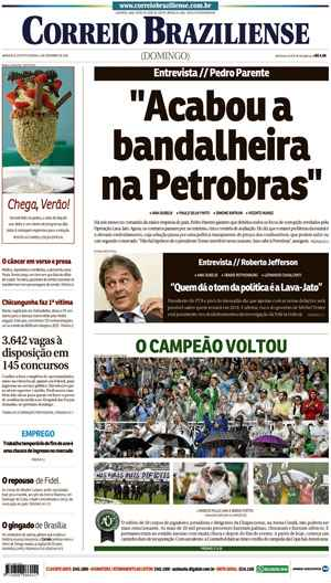 Correio Braziliense, 04 de Dezembro 2016