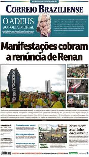 Correio Braziliense, 05 de Dezembro 2016