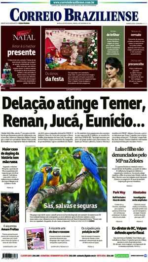 Correio Braziliense, 10 de Dezembro 2016