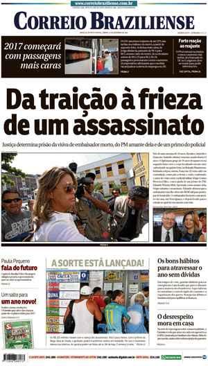 Correio Braziliense, 31 de Dezembro 2016