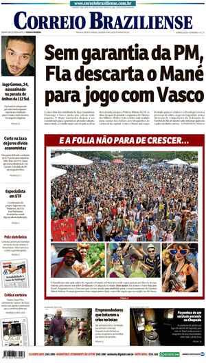 Correio Braziliense, 20 de Ferveiro de de 2017