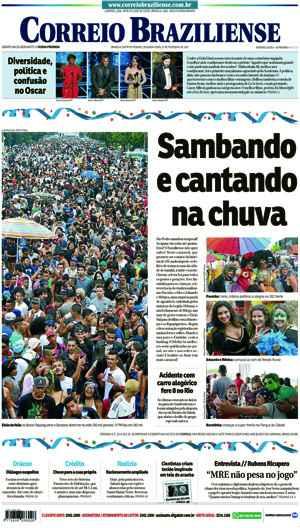 Correio Braziliense, 27 de Ferveiro de de 2017